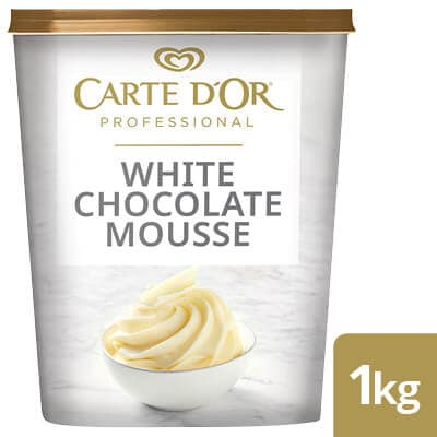 CARTE D'OR White Chocolate Mousse - Here's a range of convenient, high-quality desserts that will save you time.