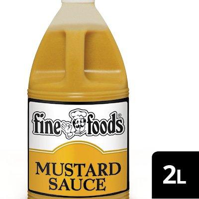 Fine Foods Pourable Mustard Sauce -