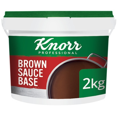 Knorr Professional Brown Sauce 2kg - Here's a simple, pre-portioned sachet solution that gives you the consistency and flavour you need.