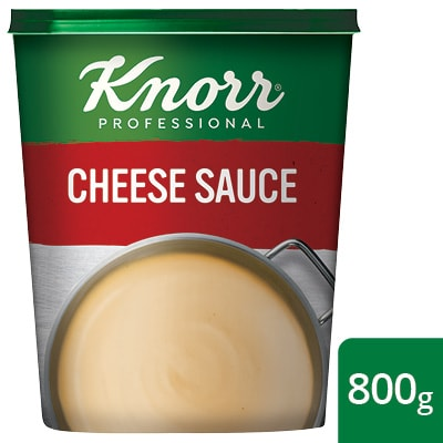 Knorr Professional Cheese Sauce Powder, 800 g - Knorr Professional Cheese Sauce Powder delivers a consistent, rich and creamy cheese sauce.