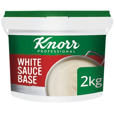 Knorr Professional White Sauce 2kg - Here's a simple, pre-portioned sachet solution that gives you the consistency and flavour you need.