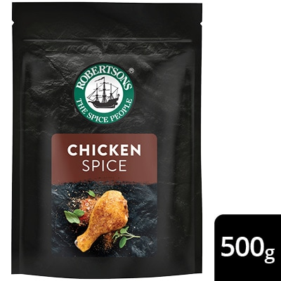 Robertsons Chicken Spice Pack - New Robertsons spice packs deliver extraordinary flavour – no compromise.