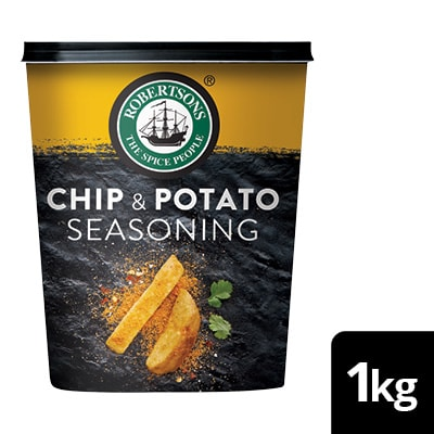 Robertsons Chip & Potato Seasoning - Here's a seasoning that gives you delicious, golden chips every day.