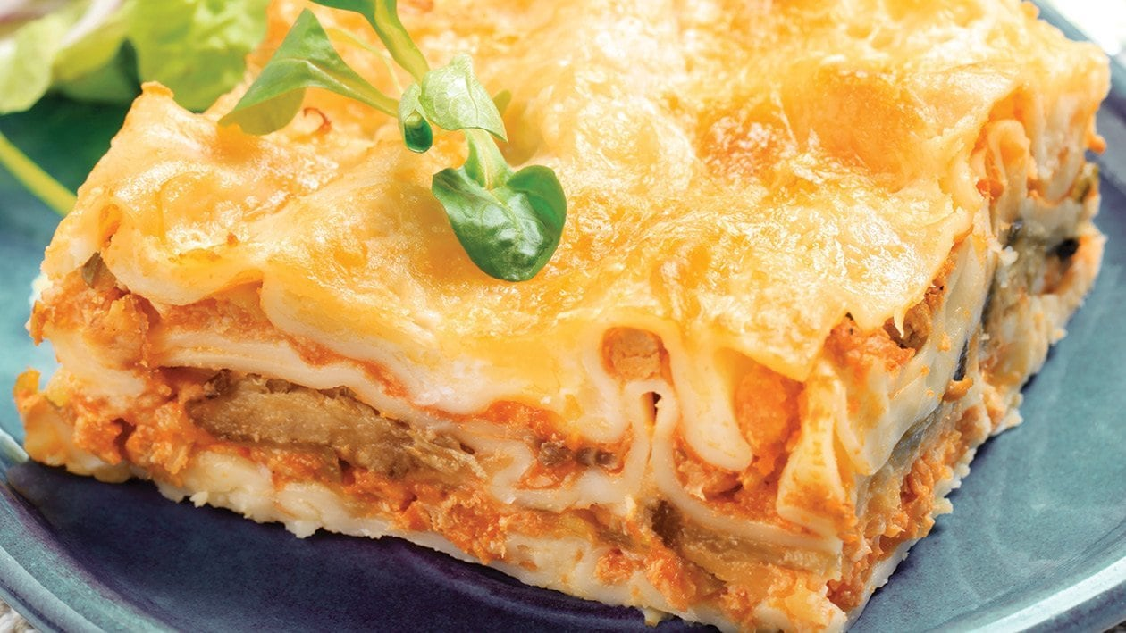 Cheeky Cheat's Chicken Lasagne