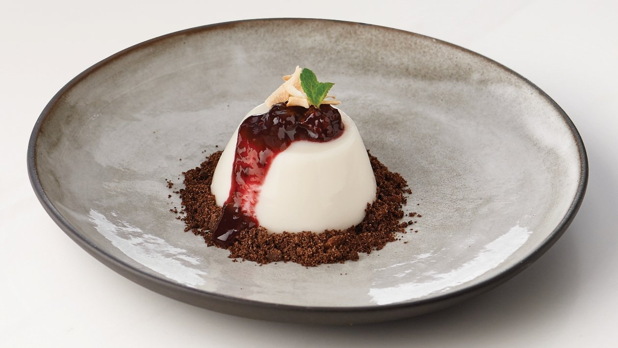 Death By Coconut Panna Cotta