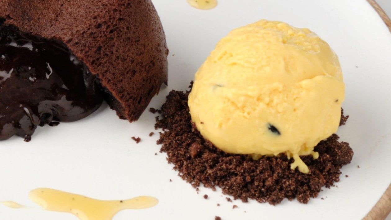 Passion Fruit and Mango Ice Cream