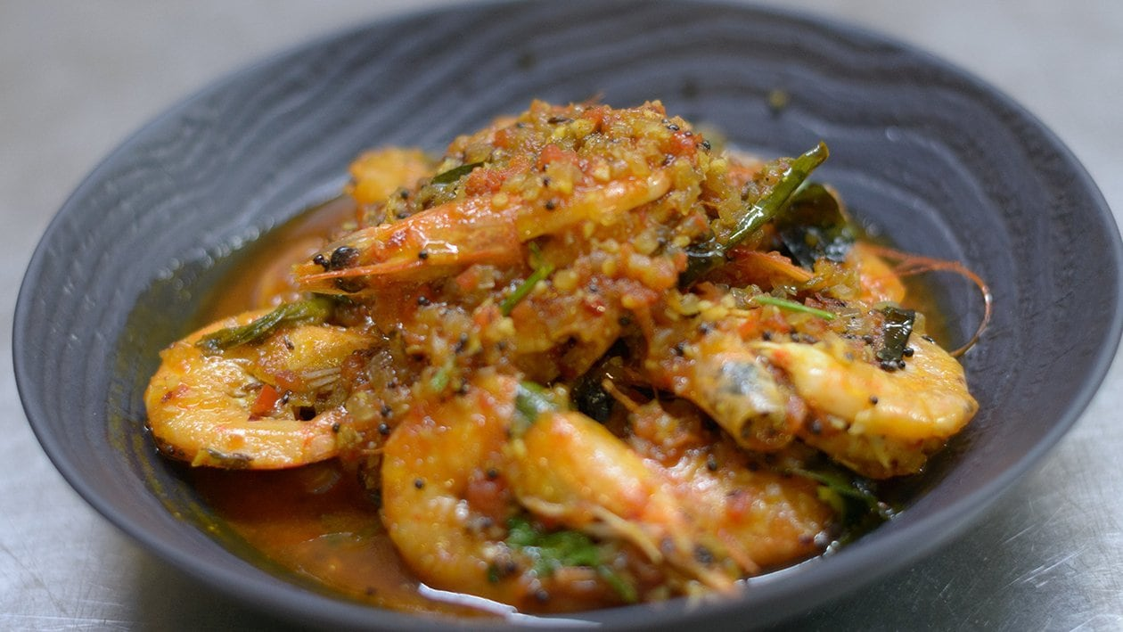 Chef Dion's Prawn Curry