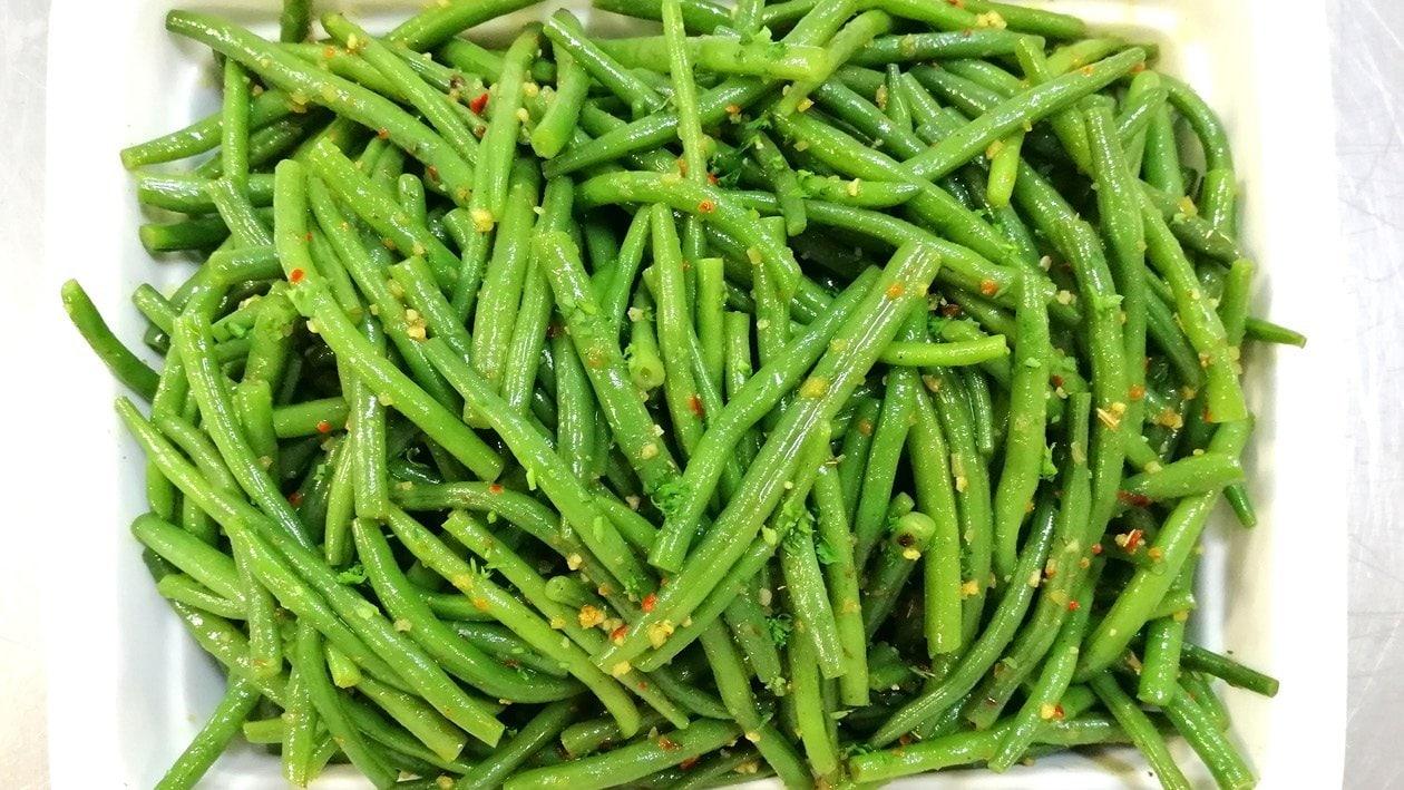 Fiery Fried Green Beans