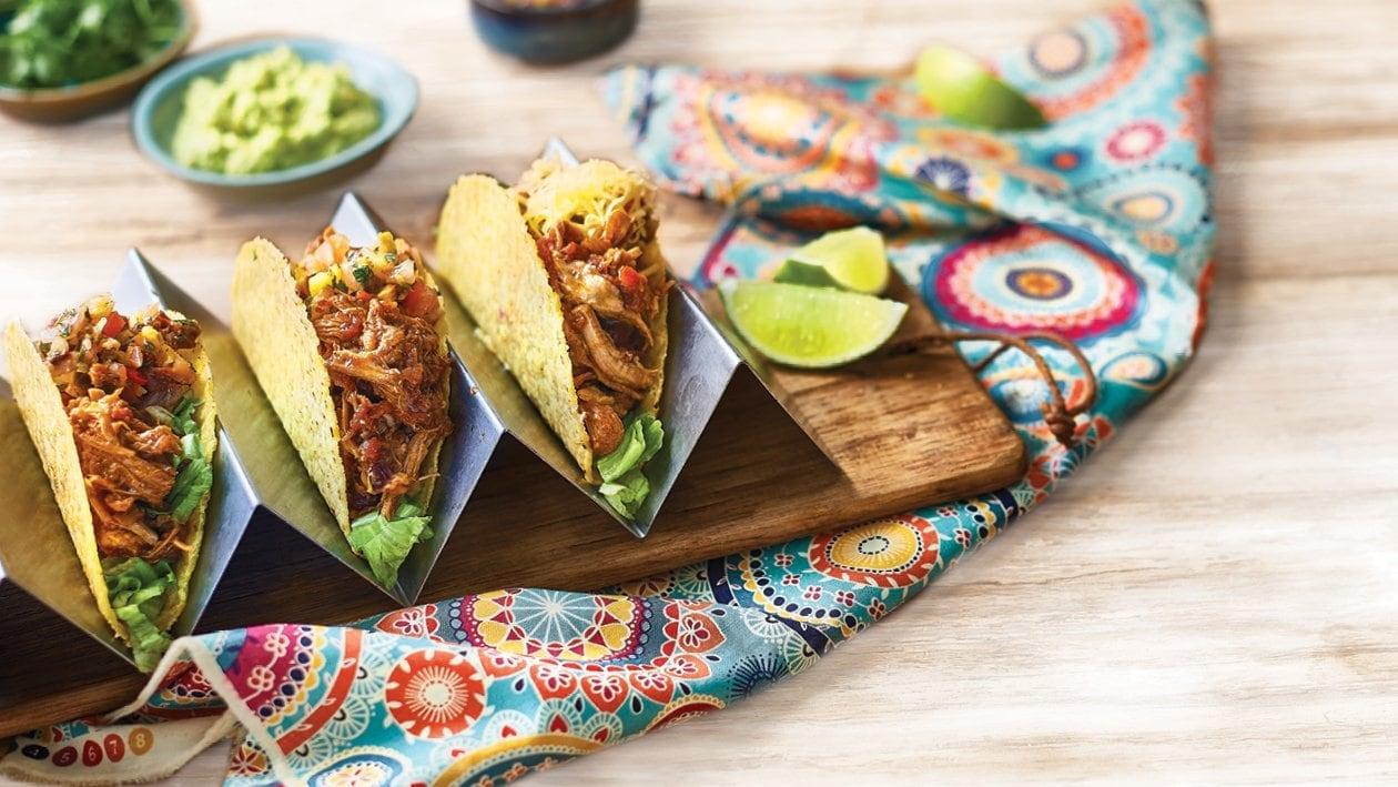 Pulled Sofrito Pork Tacos