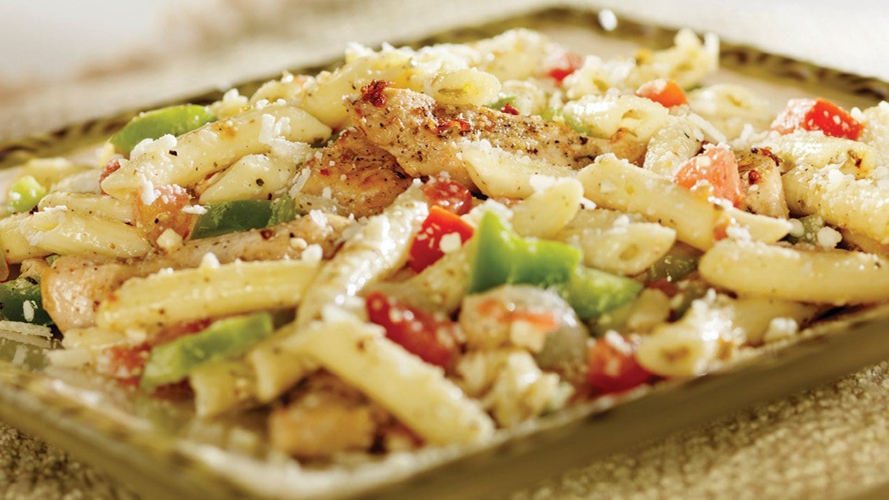 Quick-fix Pasta Salad With Chicken and Bacon