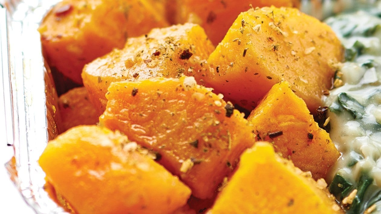 Roasted Butternut and Sweet Potato Squash
