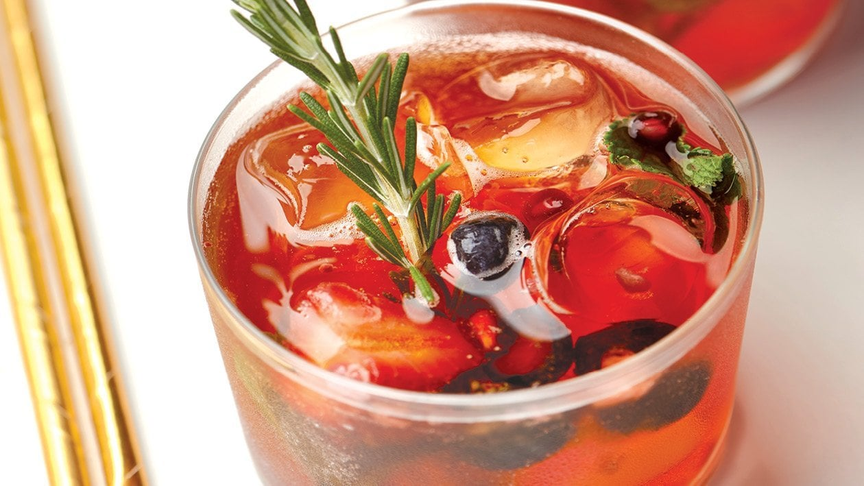 Very Berry Rooibos Sparkling Iced Tea