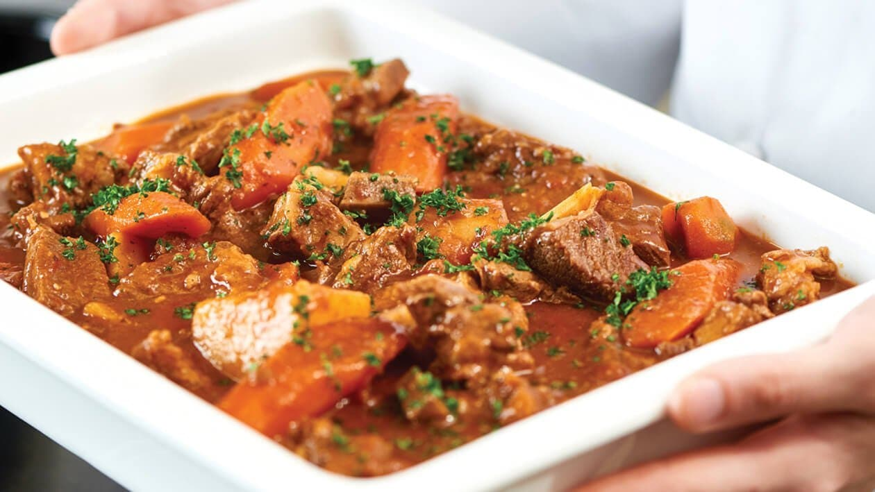 Beef Stew Perfection Culinary Recipes Unilever Food Solutions Unilever Food Solutions