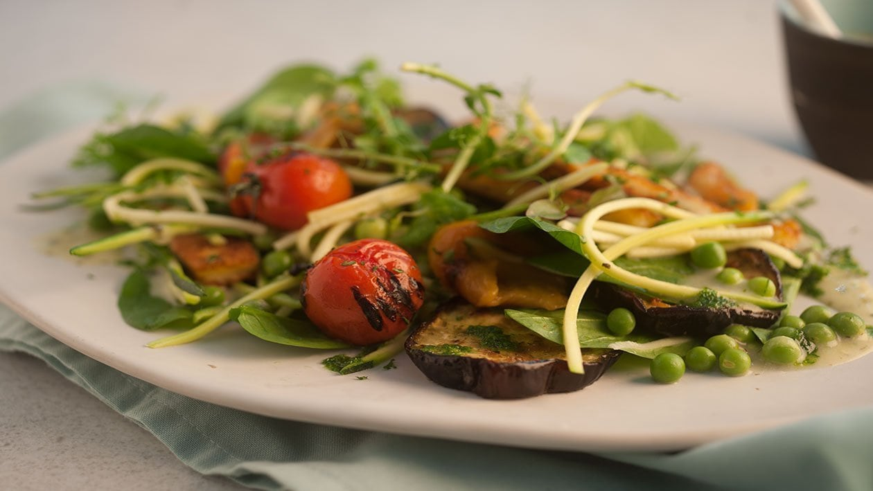 Meditaranean halloumi Salad