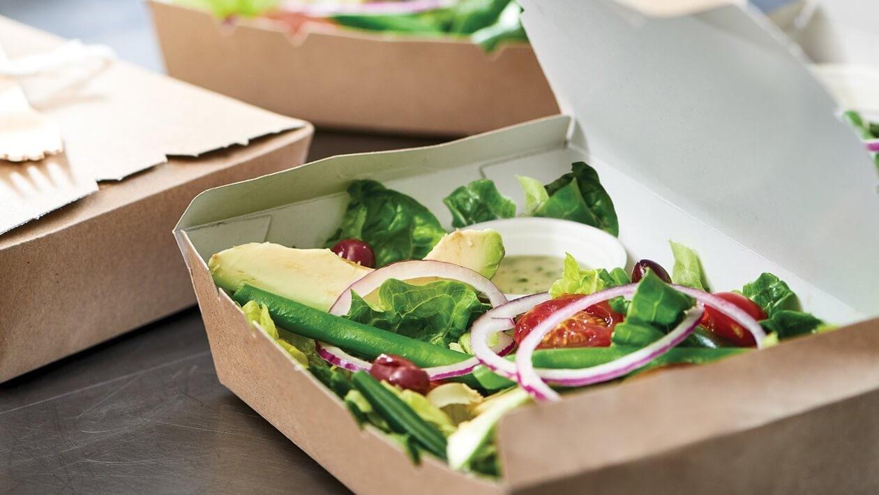 Soothing Green Earthy Salad